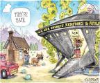 Cartoonist Matt Wuerker  Matt Wuerker's Editorial Cartoons 2013-07-22 2014 election