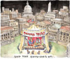 Cartoonist Matt Wuerker  Matt Wuerker's Editorial Cartoons 2013-10-14 government shutdown