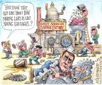 Cartoonist Matt Wuerker  Matt Wuerker's Editorial Cartoons 2013-10-21 government shutdown