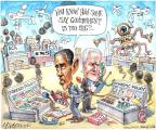 Cartoonist Matt Wuerker  Matt Wuerker's Editorial Cartoons 2013-11-05 Obama Biden
