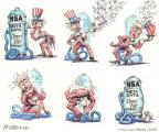 Cartoonist Matt Wuerker  Matt Wuerker's Editorial Cartoons 2013-12-04 activity