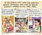Cartoonist Matt Wuerker  Matt Wuerker's Editorial Cartoons 2013-12-10 belief