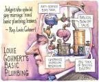 Cartoonist Matt Wuerker  Matt Wuerker's Editorial Cartoons 2014-01-17 anti-science