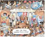 Cartoonist Matt Wuerker  Matt Wuerker's Editorial Cartoons 2014-01-28 Obama Biden