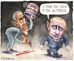 Cartoonist Matt Wuerker  Matt Wuerker's Editorial Cartoons 2014-03-04 Russia