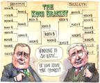 Cartoonist Matt Wuerker  Matt Wuerker's Editorial Cartoons 2014-03-21 March Madness bracket