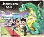 Cartoonist Matt Wuerker  Matt Wuerker's Editorial Cartoons 2014-04-24 Asia