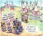 Cartoonist Matt Wuerker  Matt Wuerker's Editorial Cartoons 2014-04-28 squirt gun
