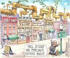 Cartoonist Matt Wuerker  Matt Wuerker's Editorial Cartoons 2014-05-12 political advertising
