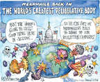 Cartoonist Matt Wuerker  Matt Wuerker's Editorial Cartoons 2014-09-09 bodybuilding