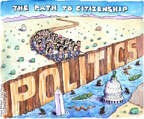 Cartoonist Matt Wuerker  Matt Wuerker's Editorial Cartoons 2014-09-10 legislation