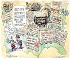 Cartoonist Matt Wuerker  Matt Wuerker's Editorial Cartoons 2014-10-03 2014 election