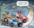 Cartoonist Matt Wuerker  Matt Wuerker's Editorial Cartoons 2014-10-09 2014 election