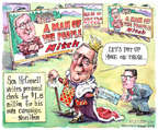 Cartoonist Matt Wuerker  Matt Wuerker's Editorial Cartoons 2014-10-28 2014