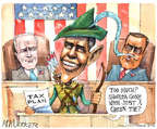 Cartoonist Matt Wuerker  Matt Wuerker's Editorial Cartoons 2015-01-20 Obama Biden