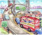 Matt Wuerker  Matt Wuerker's Editorial Cartoons 2014-01-10 2016 Election Chris Christie