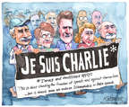 Cartoonist Matt Wuerker  Matt Wuerker's Editorial Cartoons 2015-02-18 press freedom