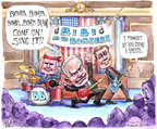 Cartoonist Matt Wuerker  Matt Wuerker's Editorial Cartoons 2015-03-04 nuclear weapon