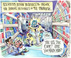 Cartoonist Matt Wuerker  Matt Wuerker's Editorial Cartoons 2015-04-15 science