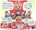 Cartoonist Matt Wuerker  Matt Wuerker's Editorial Cartoons 2015-04-21 safeguard