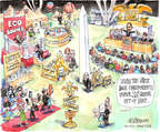 Cartoonist Matt Wuerker  Matt Wuerker's Editorial Cartoons 2015-04-27 park
