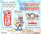 Matt Wuerker  Matt Wuerker's Editorial Cartoons 2015-06-16 2016 election Jeb Bush