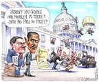 Cartoonist Matt Wuerker  Matt Wuerker's Editorial Cartoons 2015-06-19 force