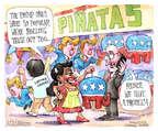 Cartoonist Matt Wuerker  Matt Wuerker's Editorial Cartoons 2015-07-21 chairman
