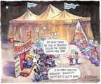 Cartoonist Matt Wuerker  Matt Wuerker's Editorial Cartoons 2015-08-14 2016 Election Bernie Sanders