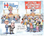 Cartoonist Matt Wuerker  Matt Wuerker's Editorial Cartoons 2015-10-06 primary election