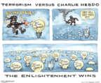 Cartoonist Matt Wuerker  Matt Wuerker's Editorial Cartoons 2016-01-06 enlightenment