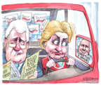 Cartoonist Matt Wuerker  Matt Wuerker's Editorial Cartoons 2016-01-13 2016 Election Bernie Sanders