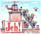 Matt Wuerker  Matt Wuerker's Editorial Cartoons 2016-01-26 2016 election Jeb Bush