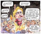 Cartoonist Matt Wuerker  Matt Wuerker's Editorial Cartoons 2016-02-08 2016 Election Bernie Sanders
