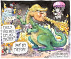 Cartoonist Matt Wuerker  Matt Wuerker's Editorial Cartoons 2016-02-19 television cartoon