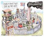 Cartoonist Matt Wuerker  Matt Wuerker's Editorial Cartoons 2016-02-24 force