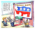 Cartoonist Matt Wuerker  Matt Wuerker's Editorial Cartoons 2016-05-11 rhinoceros