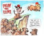Cartoonist Matt Wuerker  Matt Wuerker's Editorial Cartoons 2016-06-03 2016 election Rand Paul