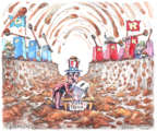 Cartoonist Matt Wuerker  Matt Wuerker's Editorial Cartoons 2016-10-21 2016 election