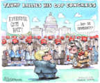 Cartoonist Matt Wuerker  Matt Wuerker's Editorial Cartoons 2016-11-17 2016 election