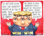 Cartoonist Matt Wuerker  Matt Wuerker's Editorial Cartoons 2017-01-13 Russia