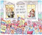 Matt Wuerker  Matt Wuerker's Editorial Cartoons 2017-01-23 Melania Trump