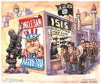 Matt Wuerker  Matt Wuerker's Editorial Cartoons 2017-01-31 Donald Trump