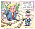 Cartoonist Matt Wuerker  Matt Wuerker's Editorial Cartoons 2017-02-16 Russia
