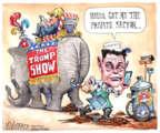 Cartoonist Matt Wuerker  Matt Wuerker's Editorial Cartoons 2017-04-25 House of Representatives
