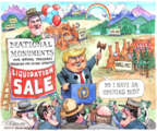 Cartoonist Matt Wuerker  Matt Wuerker's Editorial Cartoons 2017-05-01 park