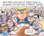 Cartoonist Matt Wuerker  Matt Wuerker's Editorial Cartoons 2017-06-21 2016 election