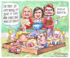 Cartoonist Matt Wuerker  Matt Wuerker's Editorial Cartoons 2017-07-20 senator