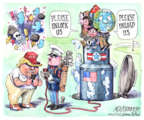 Matt Wuerker  Matt Wuerker's Editorial Cartoons 2017-08-11 Donald Trump