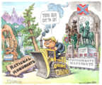 Cartoonist Matt Wuerker  Matt Wuerker's Editorial Cartoons 2017-08-17 national park